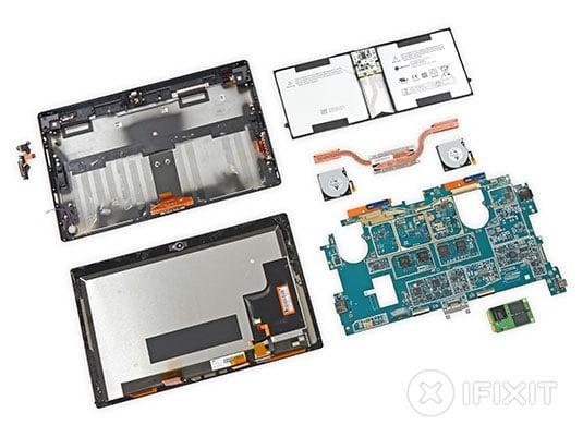 Surface Pro 2 teardown