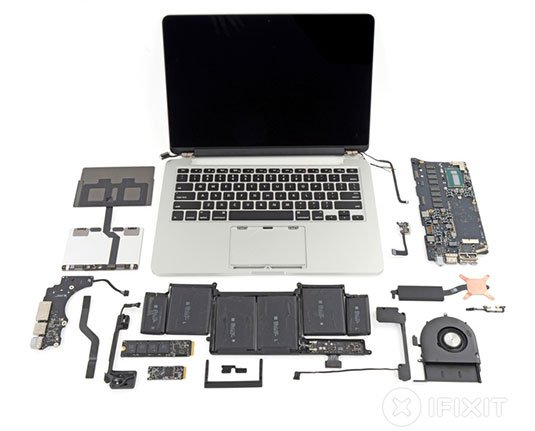 don t crack that mac almost nothing in new retina macbook pros can rh theregister co uk macbook pro 15 parts diagram macbook pro 15 parts diagram