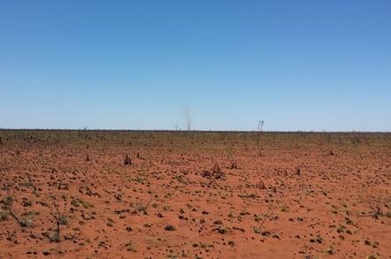 The Tanami Desert en route to Willowara