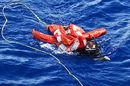 Drowning sailor