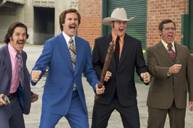 Anchorman street fight