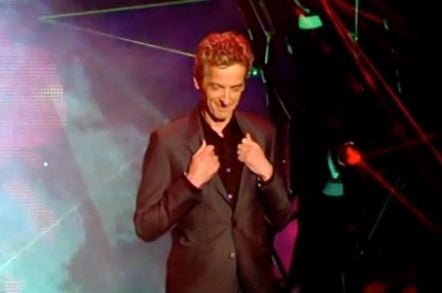 Peter Capaldi channels William Hartnell