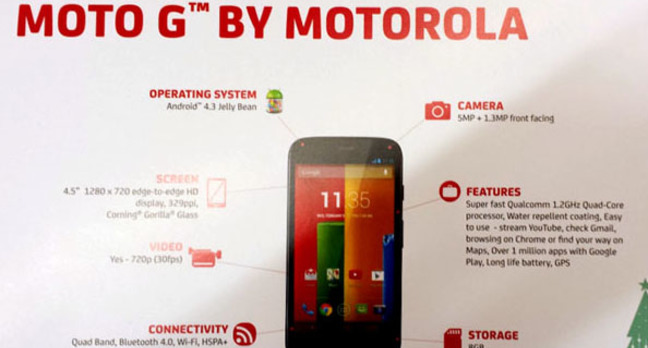 Motorola G at GSM Arena