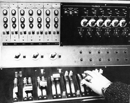 Radiophonic Workshop 12-channel Longden mixer