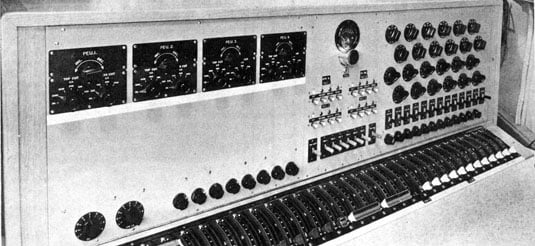 Radiophonic Workshop 20-channel mixer