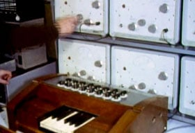 Keying unit with attack and decay function knobs and switches