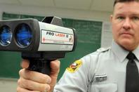 Pro Laser III speed gun