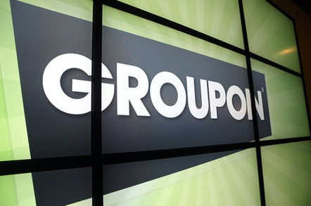 Groupon office screen