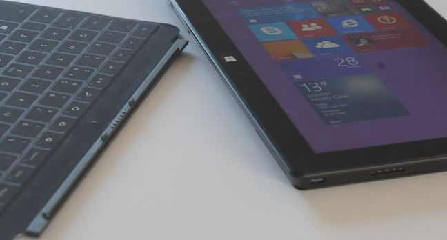 Surface Pro 2 with keyboard, photo Gavin Clarke