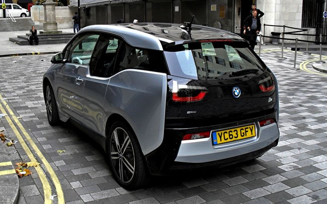 Ultimate electric driving machine? Yes, it's the BMW i3 e