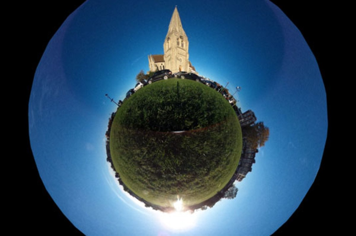 Ricoh Theta 360˚ Camera Point And Click Immersive Imaging