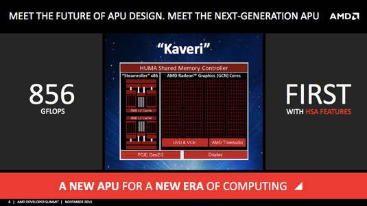 AMD's upcoming 'Kaveri' processor - overview