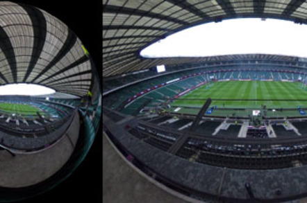 Twickenham Rugby Ground - empty
