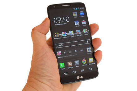 Baby's got the bends: LG's D958 G Flex Android smartie • The