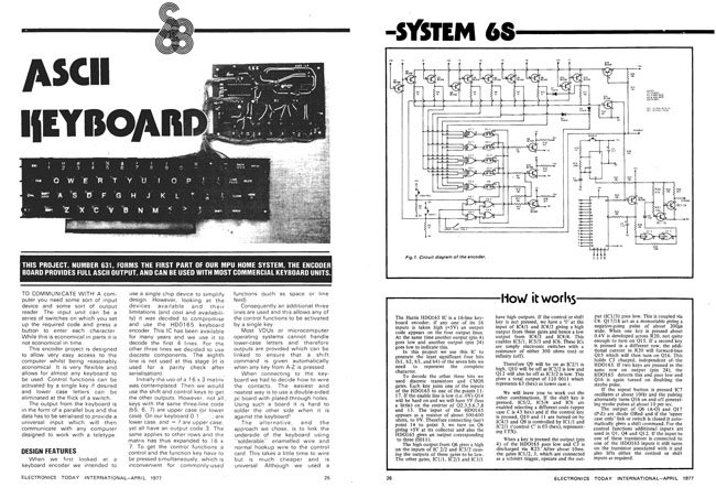 Electronics Today International System 68