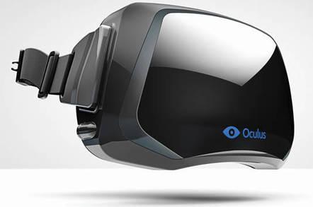 Oculus Rift VR system prototype