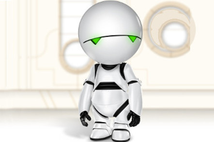 Google wants Marvin the Paranoid Android's personality in