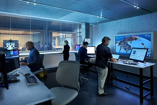 Microsoft forensics center