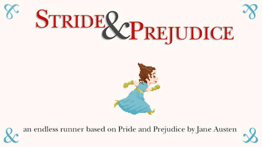 The Stride and Prejudice game