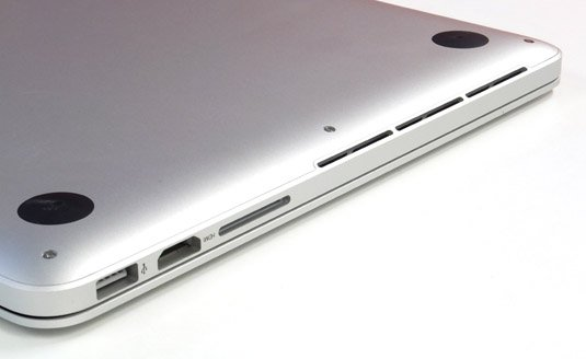 Apple MacBook Pro 13in late 2013 interfacing