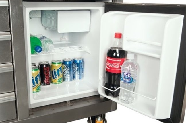 The Ultima Tool Chest's fridge