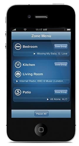 Sonos iPhone Controller