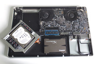 Apple MacBook Pro 17in 2009 fusion upgrade in 2013