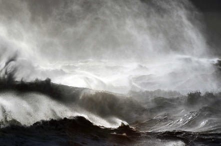 Stormy Dover. Pic: Phil Houghton
