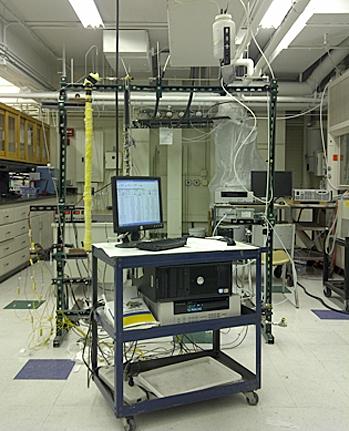 MIT's experimental setup