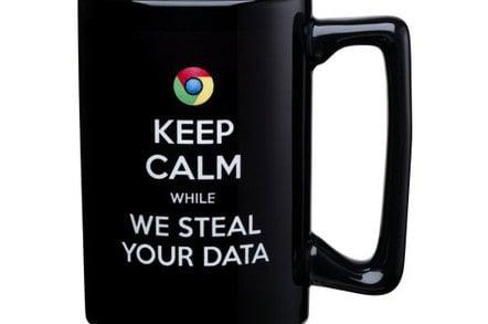 Microsoft 'Scroogled' mug