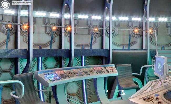 Tardis control panel