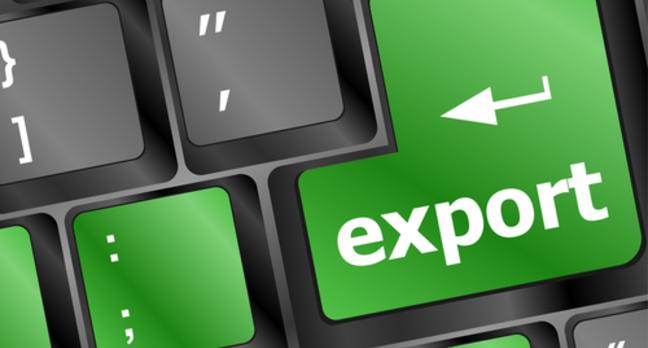 Export computer keyboard key