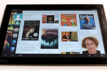 Kobo Arc 10HD Android tablet