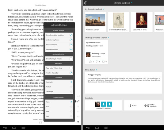 Kobo Advanced Settings and Beyond the Book