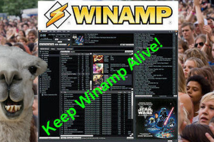 Save Winamp Change.org petition art