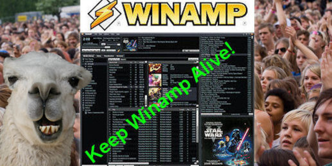 Save Winamp Change.org petition art