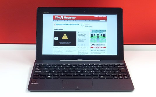 Asus Transformer Book T100 front