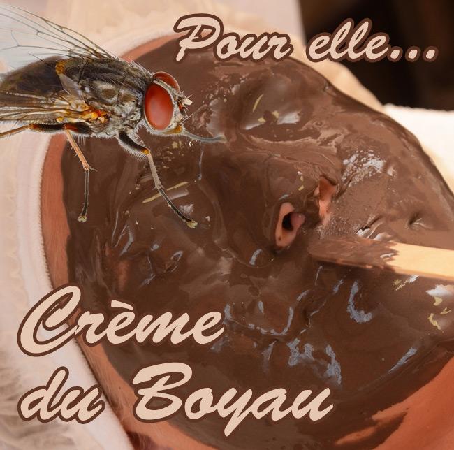 The Creme du Boyau face pack