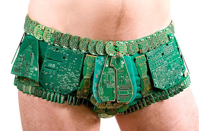 Circuit board underwear by emiko-o
