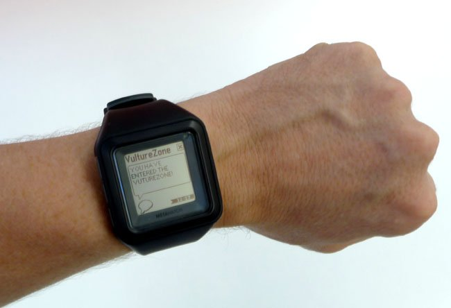 IBeacon notifications on Metawatch