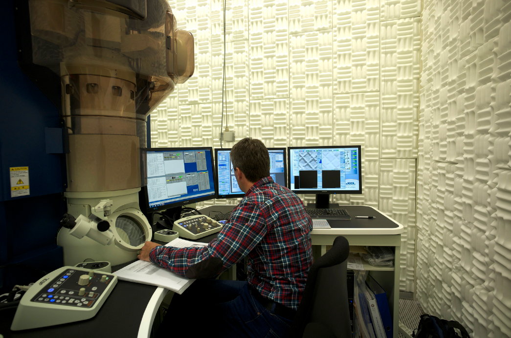 IBM Research noise-free room, photo: IBM Research