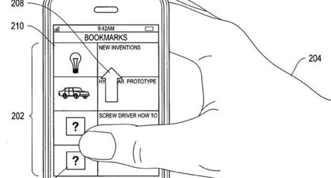 Apple face-recognition patent illustration