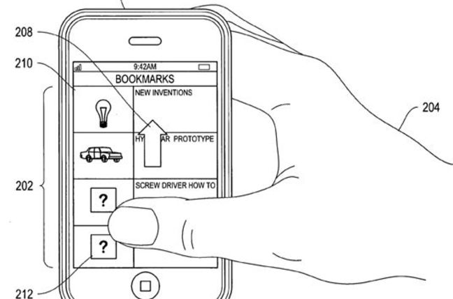 Apple face-recognition patent illustration