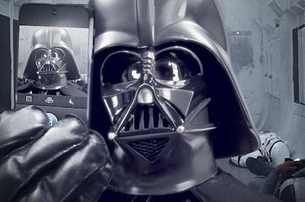 Darth Vader's first selfie