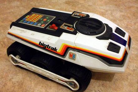 Milton Bradley Big Trak