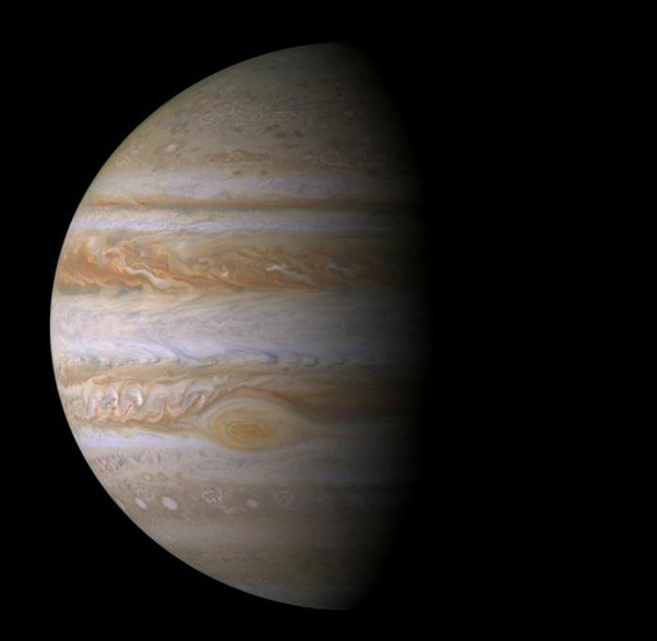 Cassini image of Jupiter. Pic: NASA