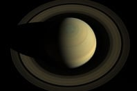 Cassini image of Saturn taken on 10 October 2013. Pic: NASA