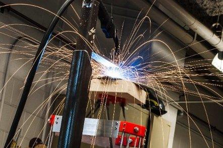 Michigan University's metal 3D printer