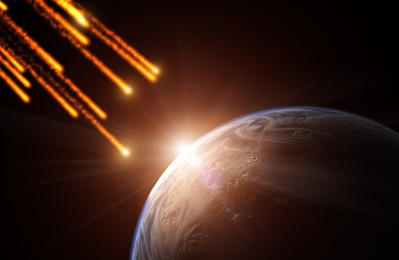 What a shower: METEORS will BLAZE a FIERY TRAIL across our ...
