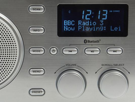 Sandstrom SDABXBL13 DAB-Bluetooth radio